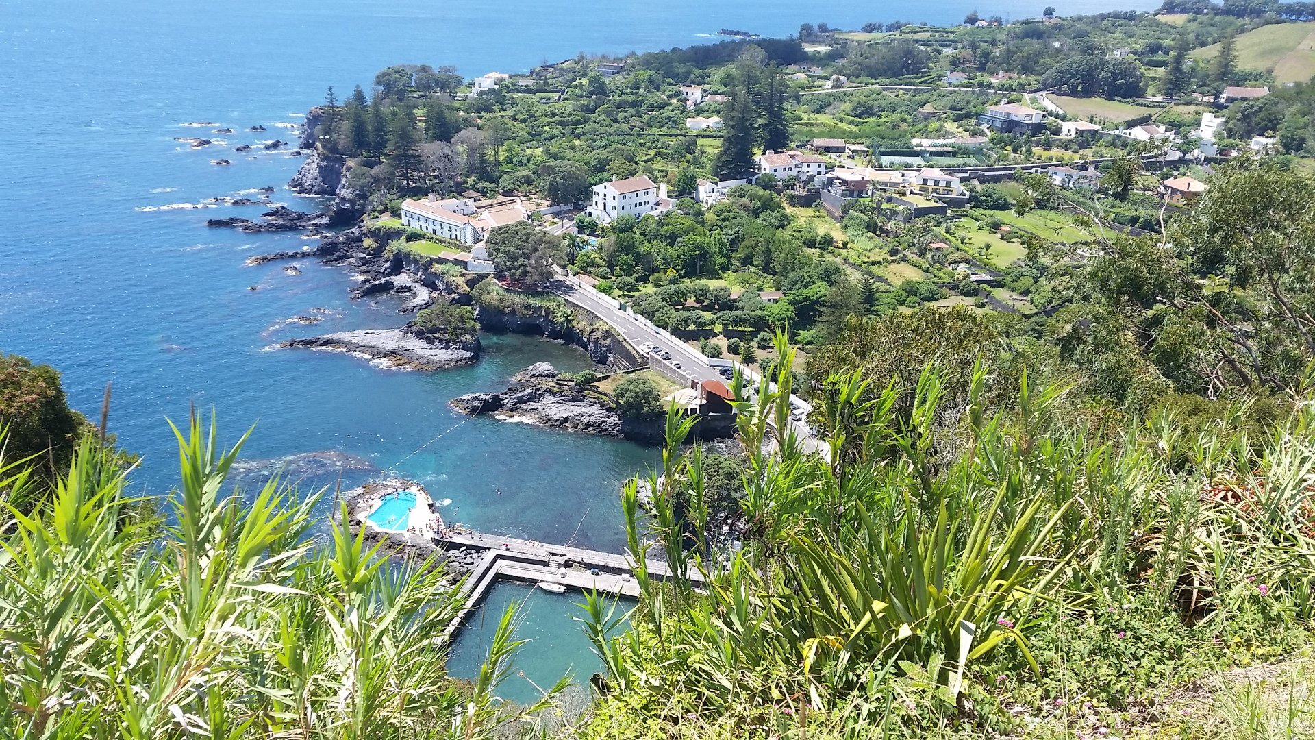 Caloura viewpoint
